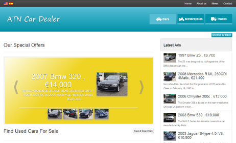 New version of the ATN Car Dealer software