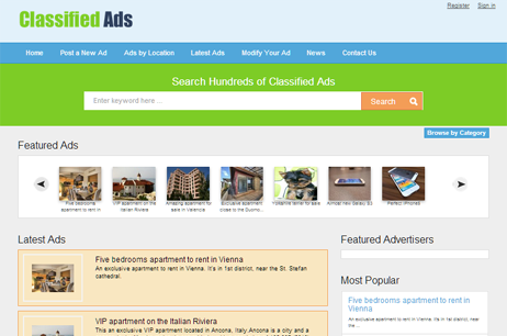 atn classifieds template