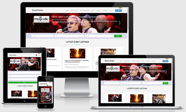 Create an advanced and responsive event site with our latest ATN Events software