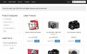 advanced e-commerce shopping cart website creation software