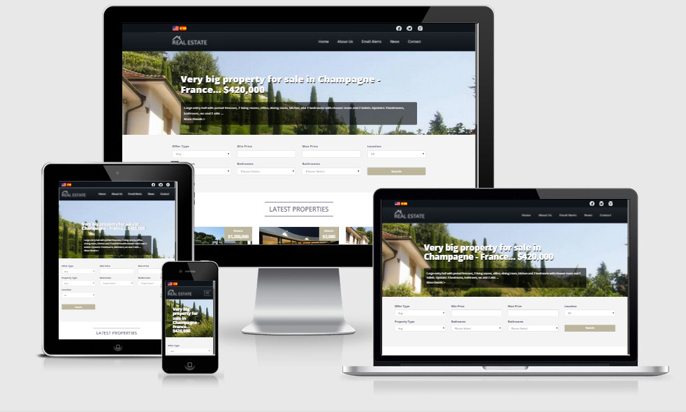 responsive atn realtor php software