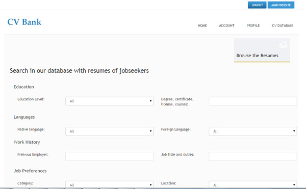Petfinder jobs search and resume database